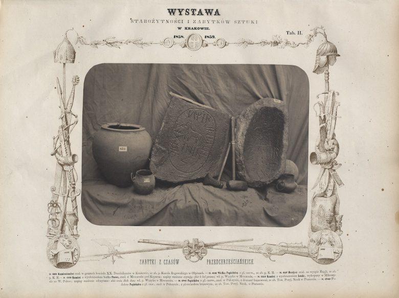 Plate II, in: Karol Beyer, Album fotograficzne wystawy starożytności i zabytków sztuki urządzonej przez c.k. Towarzystwo Naukowe w Krakowie 1858 i 1859 r., Cracow 1858–1859