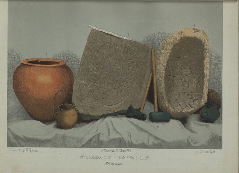 Archeological Objects, in: Maksymilan Fajans, Patterns of Medieval and Renaissance Art in Poland, Warsaw-Paris 1860