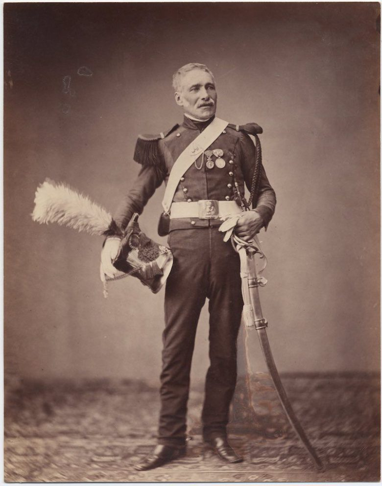 Author unknown, A Grand Armée Veteran, 1857?, albumen print, Brown University Library