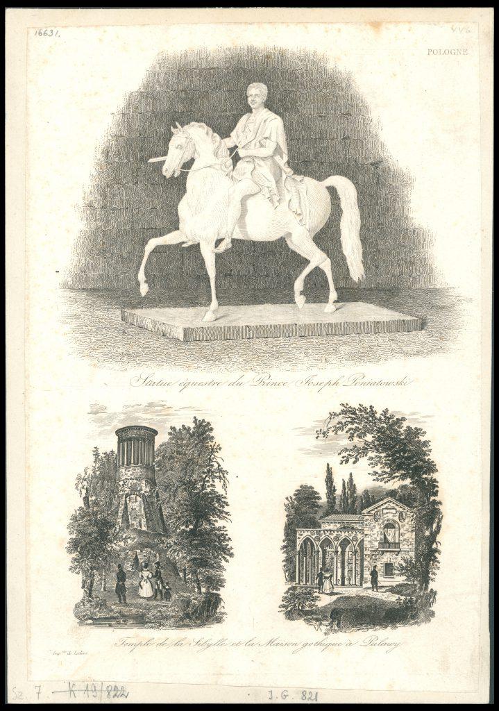Auguste-François Alès, Pologne, before 1836, engraving