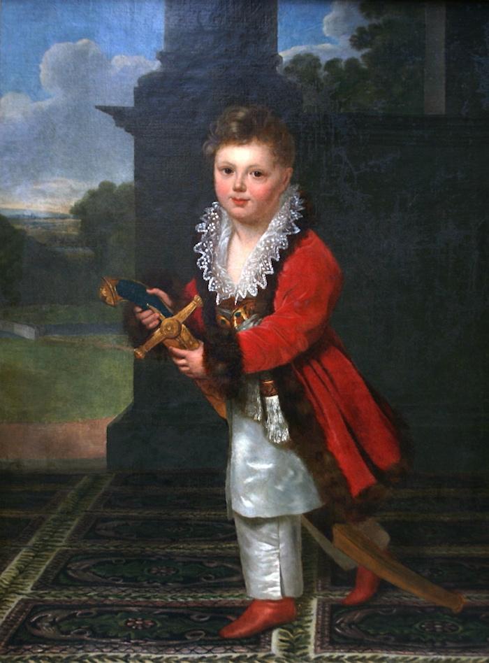 Henri François Riesener, Portrait of Zygmunt Krasiński, oil on canvas, after 1816, National Museum in Warsaw