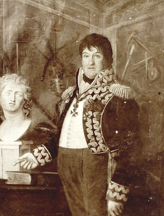 Unknown author, Photograph of the Portrait of Jan Henryk Dąbrowski, ca. 1910