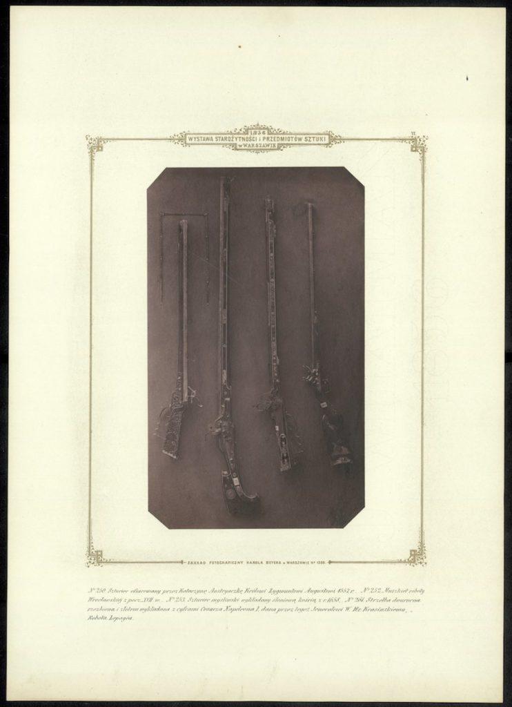 Plate VI, in: Karol Beyer, Wystawa starożytności i przedmiotów sztuki w Warszawie 1856, Warszawa 1856