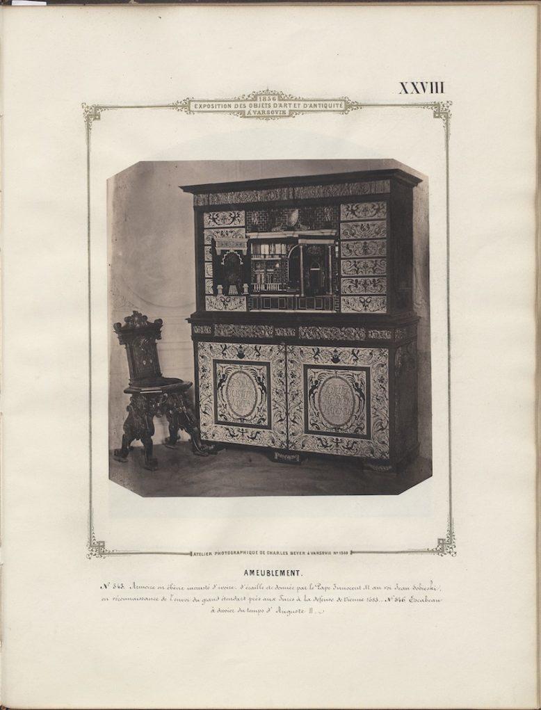 Plate XXVIII, in: Karol Beyer, Album de l'exposition des objets d'art et d'antiquité, Warsaw 1856