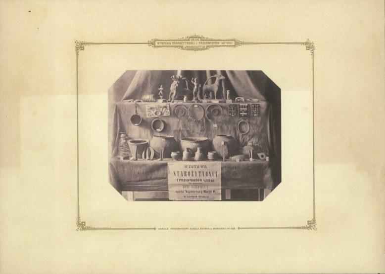 Title Page/Plate I, in: Karol Beyer, Wystawa starożytności i przedmiotów sztuki w Warszawie 1856, Warszawa 1856