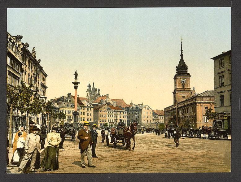 Z cyklu fotochromowych widoków z Imperium Rosyjskiego, Photoglob w Zurychu, lata 80. XIX w. Congress Library