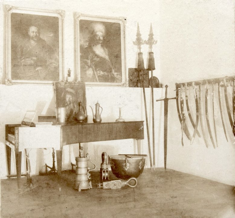 Sala Mauretańska w Kórniku, w: Zygmunt Celichowski, Zamek kórnicki z objaśnieniami do przeźroczy, Poznań 1916
