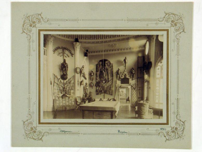 Zbrojownia rogalińska, pocz. XX wieku, Archiwum Potockich z Krzeszowic, Archiwum Narodowe na Wawelu w Krakowie