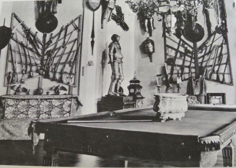 Roman S. Ulatowski, Zbrojownia rogalińska, przed 1939 r., fotografia, Zbiory Urzędu Wielkopolskiego Konserwatora Zabytków