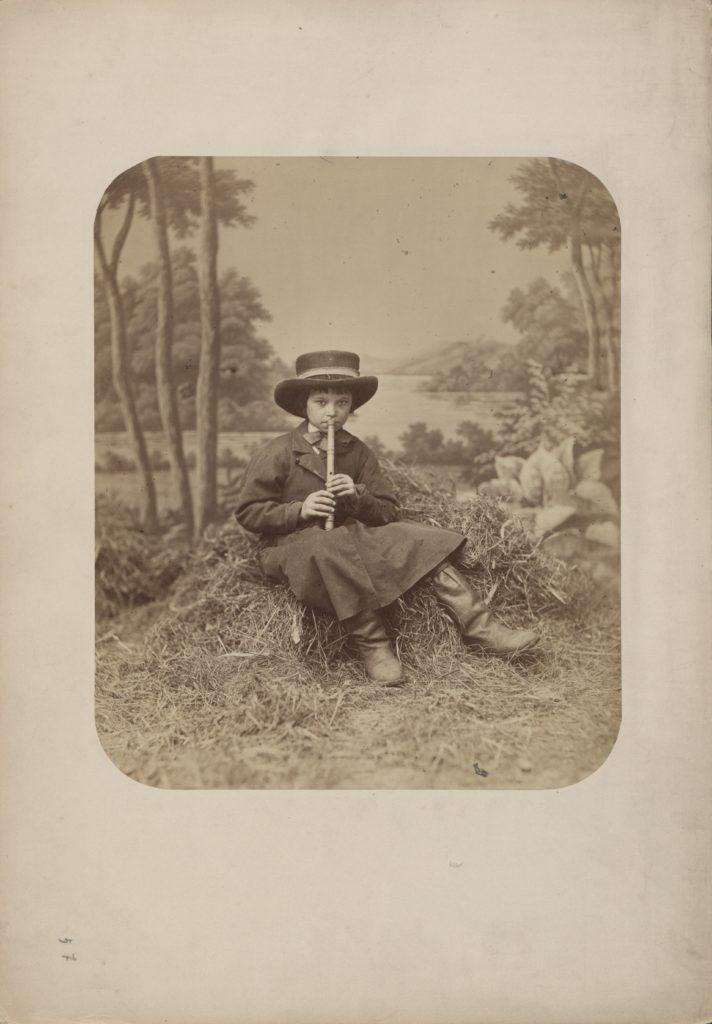 Karol Beyer, Typ z Wilanowa, 1866, odb. na pap. albuminowym, Biblioteka Narodowa