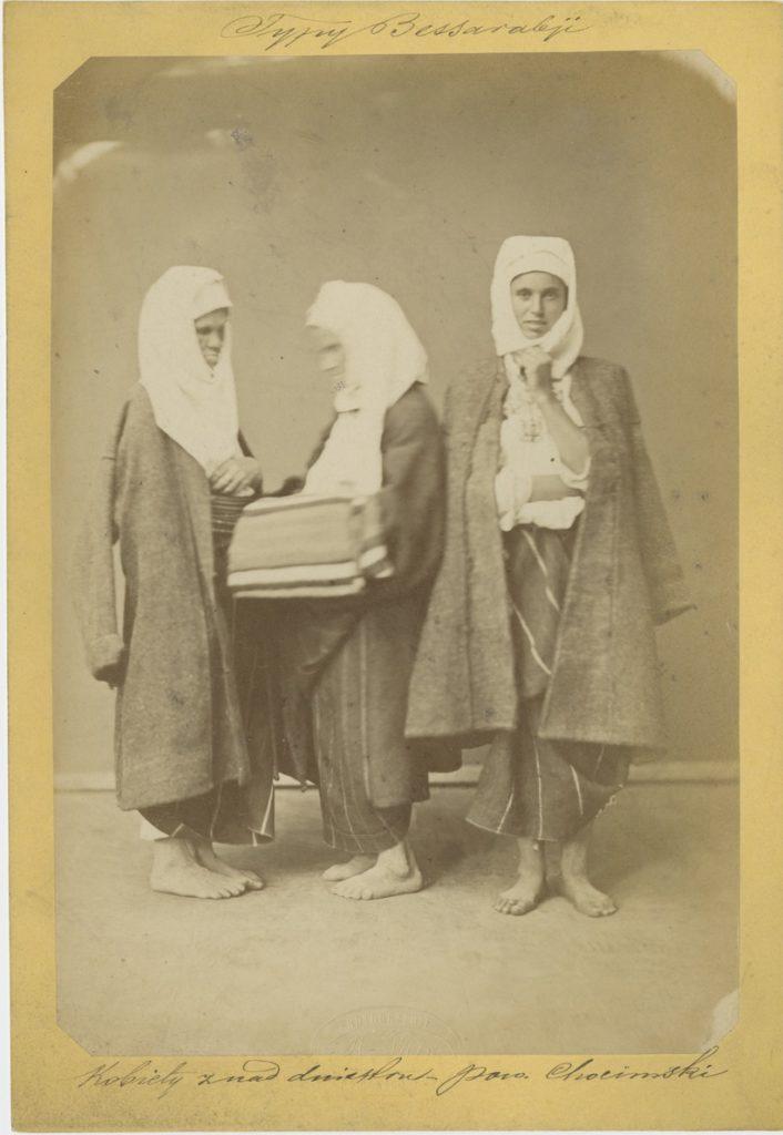 Michał Greim, Kobiety znad Dniestru, 1875, odb. na pap. albuminowym, Biblioteka PAU