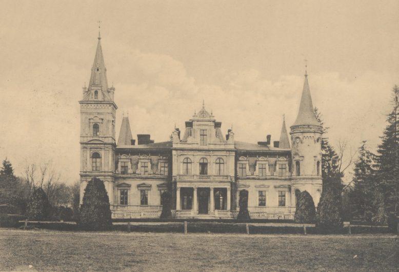 Posadowo, w: Leonard Durczykiewicz, Dwory polskie w Wielkiem Księstwie Poznańskiem, Poznań 1912