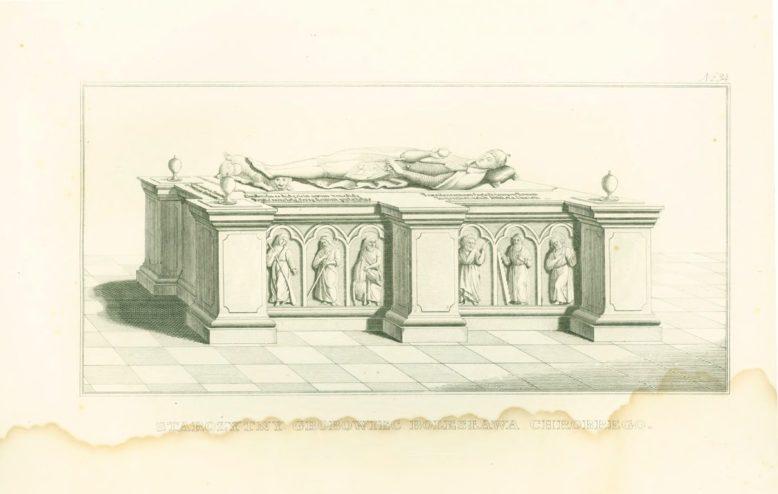 Starożytny grobowiec Bolesława Chrobrego, w: Edward Raczyński, Wspomnienia Wielkopolski, Poznań 1842–1843