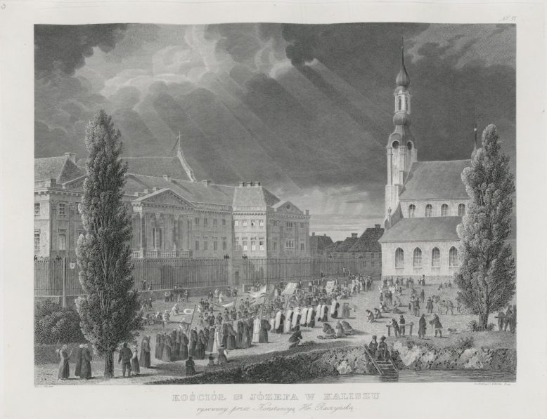 Kościół św. Józefa w Kaliszu, w: Edward Raczyński, Wspomnienia Wielkopolski, Poznań 1842–1843