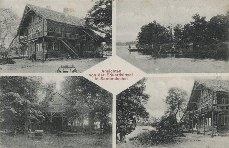 Leonard Durczykiewicz, Zaniemyśl, pocztówka, Zbiory Biblioteki Uniwersyteckiej w Poznaniu