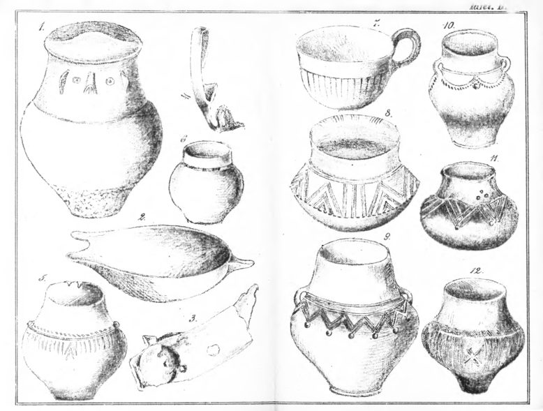 Przedmioty z wykopalisk w Wągrowcu. Zeitschrift der Hist. Gesellschaf (1885)