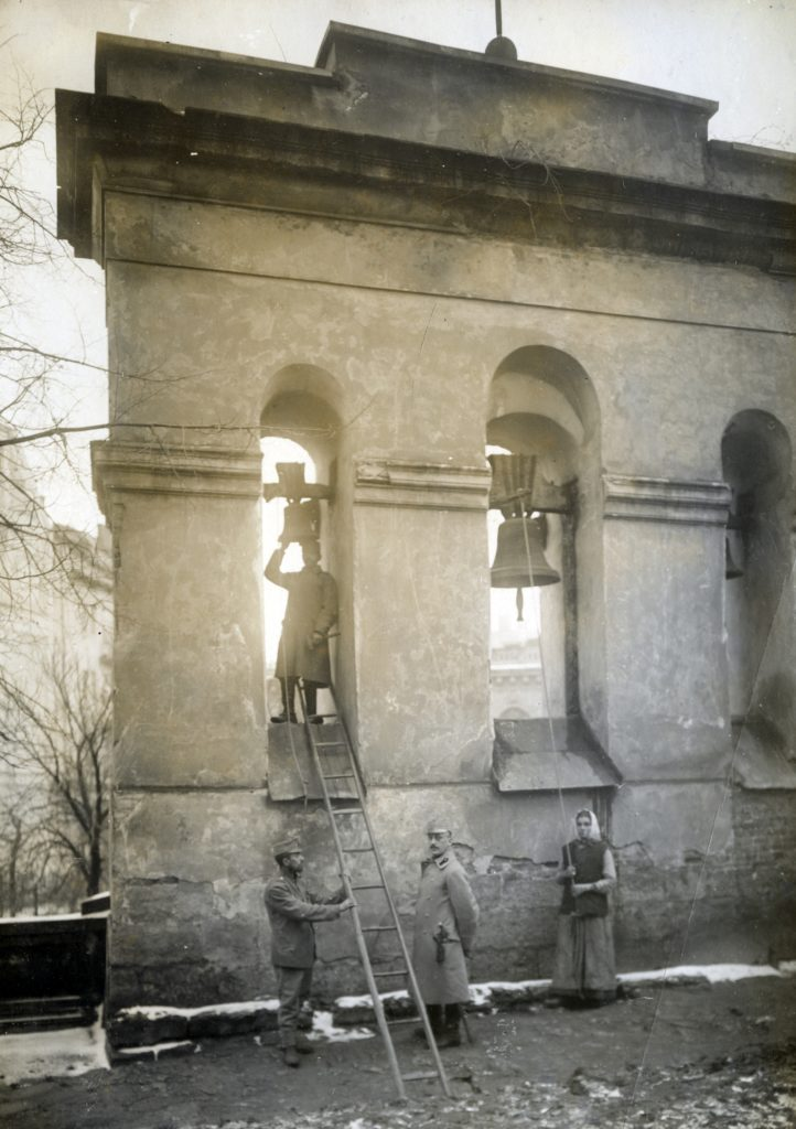 Survey of bells in Lviv, 1916. Courtesy of the Institue of Art of the Polish Academy of Sciences