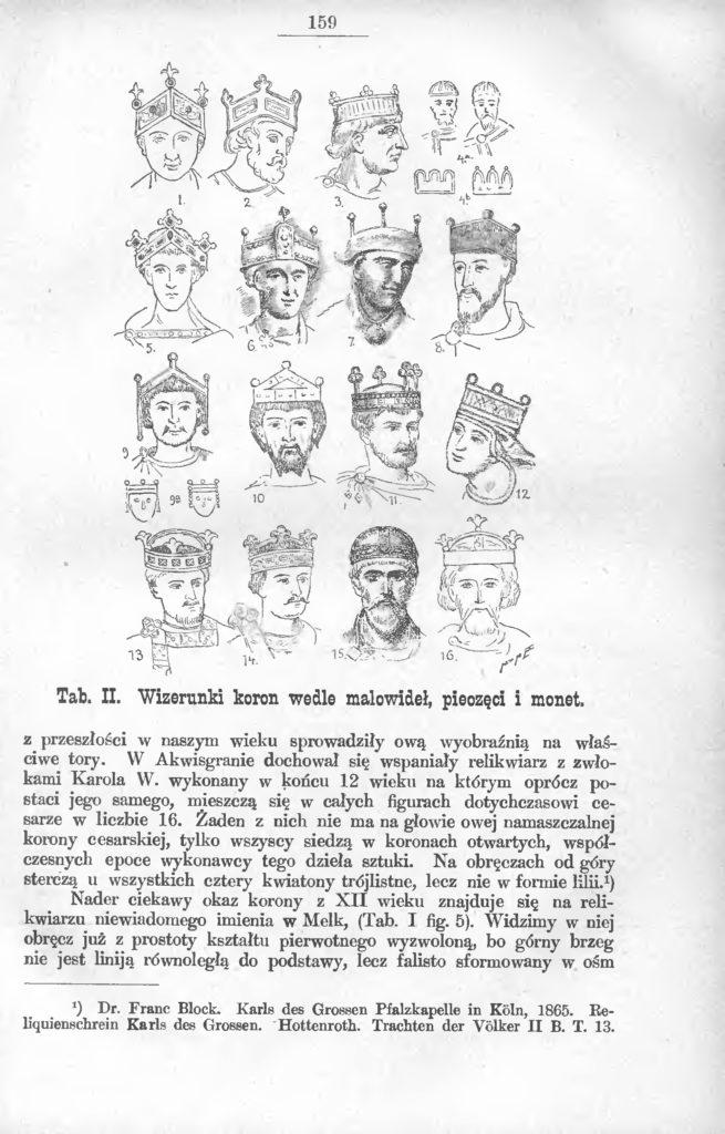 Korony królów polskich, Roczniki PTPN, t. 26 (1900).