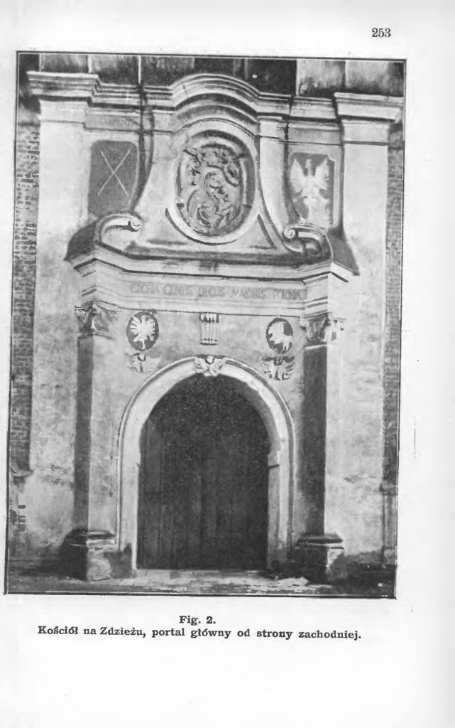 Kościół na Zdzieżu pod Borkiem, Roczniki PTPN, t. 34 (1908).