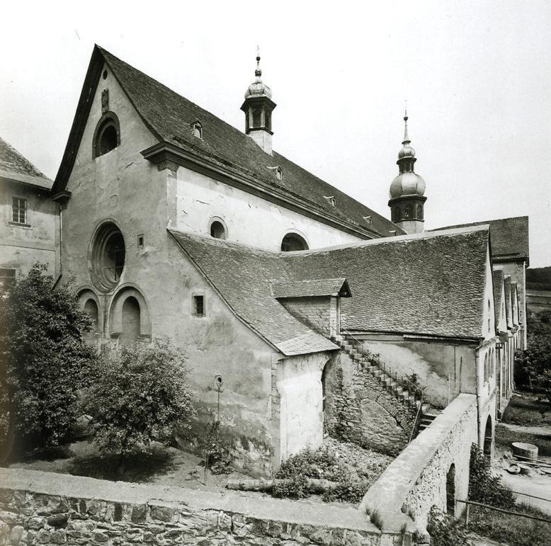 Albrecht Meydenbauer, Klasztor w Eberbach, 1885, źródło: Wikipedia