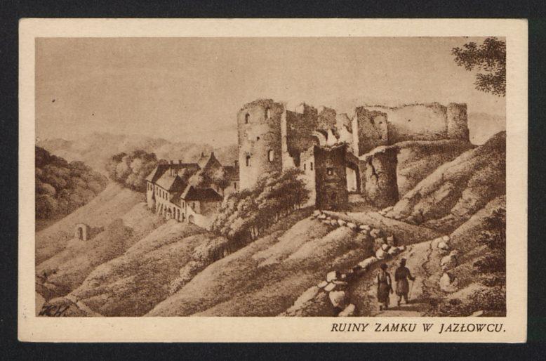 Jazłowiec, pocztówka, l.20-te XX w.