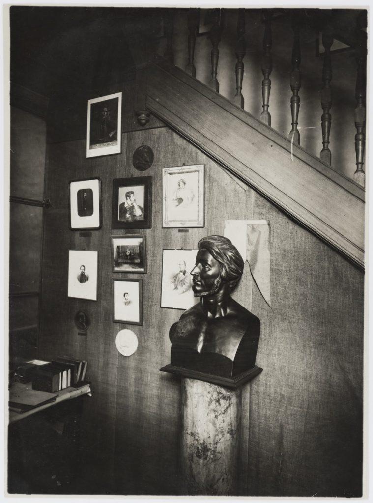 Muzeum Adama Mickiewicza w Paryżu, fotografie, lata 20-te XX wieku, źródło: PAU-art.
