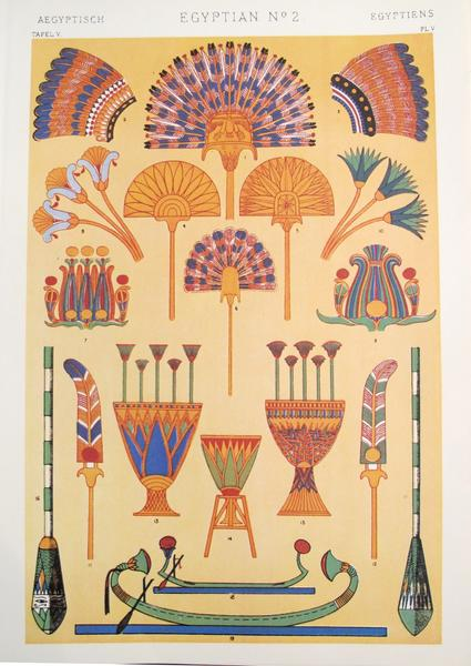 "Tablica z: ""The Grammar of Ornament"", chromolitografia, 1856, domena publiczna"