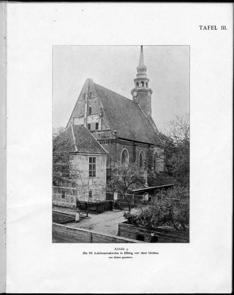 """G. Cuny, Beitrage zur Kunde der Baudenkmaler in Westpreussen, """"Mitteilungen des Coppernicus-Vereins für Wissenschaft und Kunst zu Thorn"""", 12 (1899)"""