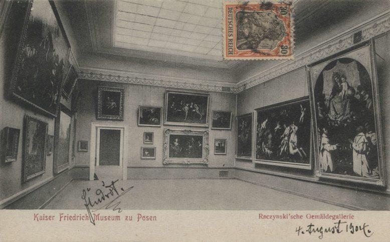Kolekcja Atanazego Raczyńskiego w Kaiser-Friedrich-Museum w Poznaniu, pocztówka ze zbiorów Biblioteki Uniwersyteckiej w Poznaniu