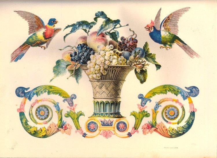 "Godefroy Engelmann, karta z ""Album chromolithographique …"", Engelmann pere et fils 1837. Domena publiczna"