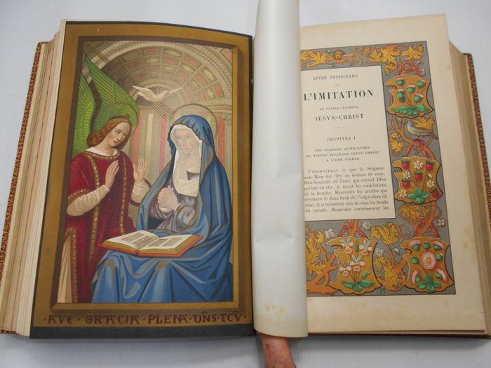 L'Imitation de Jesus-Christ, Paris: Imprimerie Imperiale 1855 (faksymile). Domena publiczna