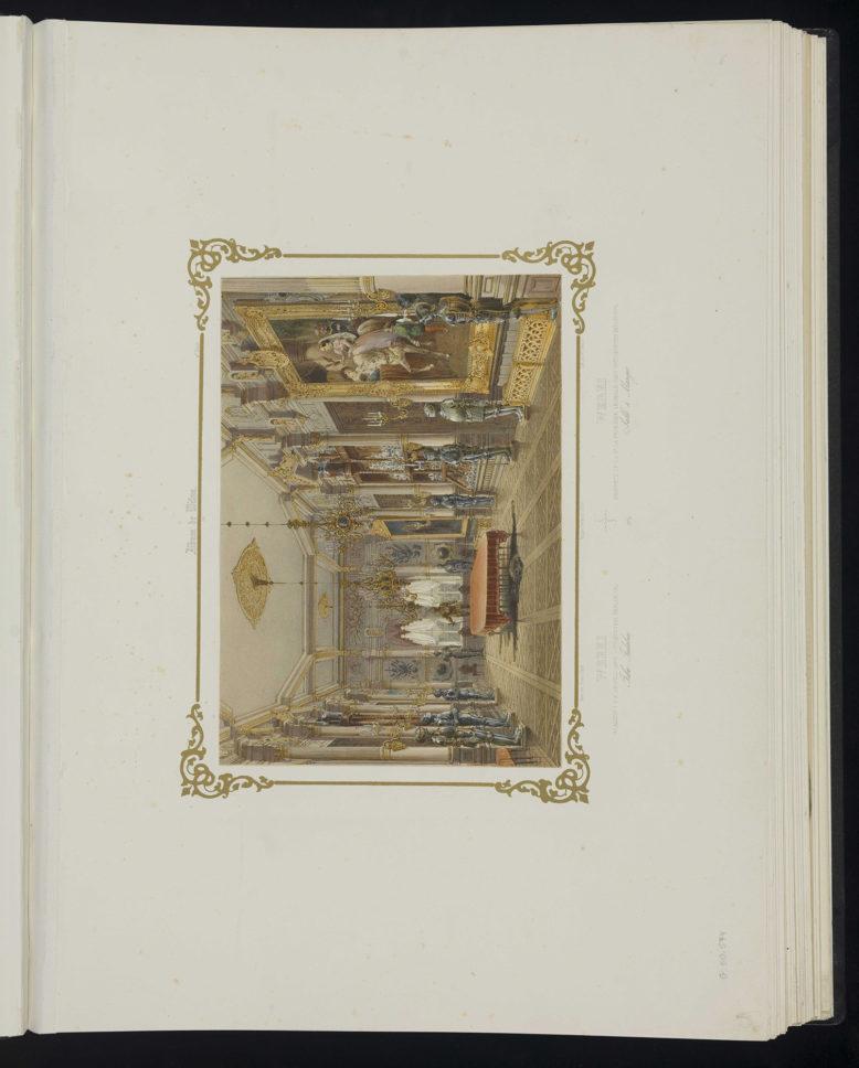 """Werki, rycina z 1. Serii """"Album Wileńskie"""", chromolitografia Lemerciera [1845]. Domena publiczna"""