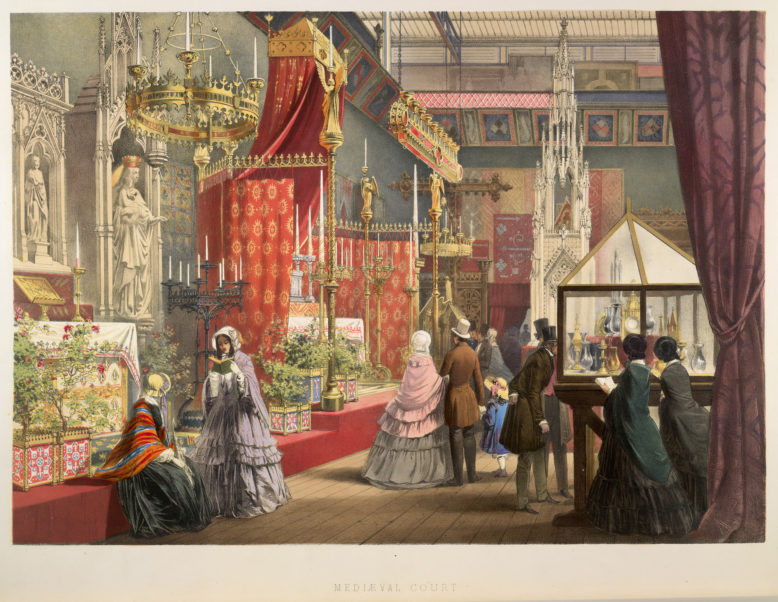"Rycina z Dickinson's ""Coprehensive Pictures of the Great Exhibition of 1851"", London 1854. Domena publiczna"