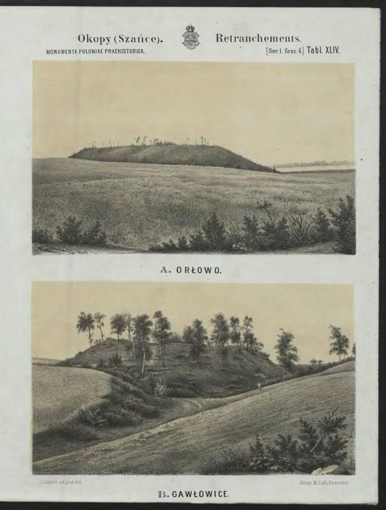 Tablica z: G. Ossowski, Zabytki Przedhistoryczne ziem polskich, serya I. Prusy Królewskie, Kraków 1879