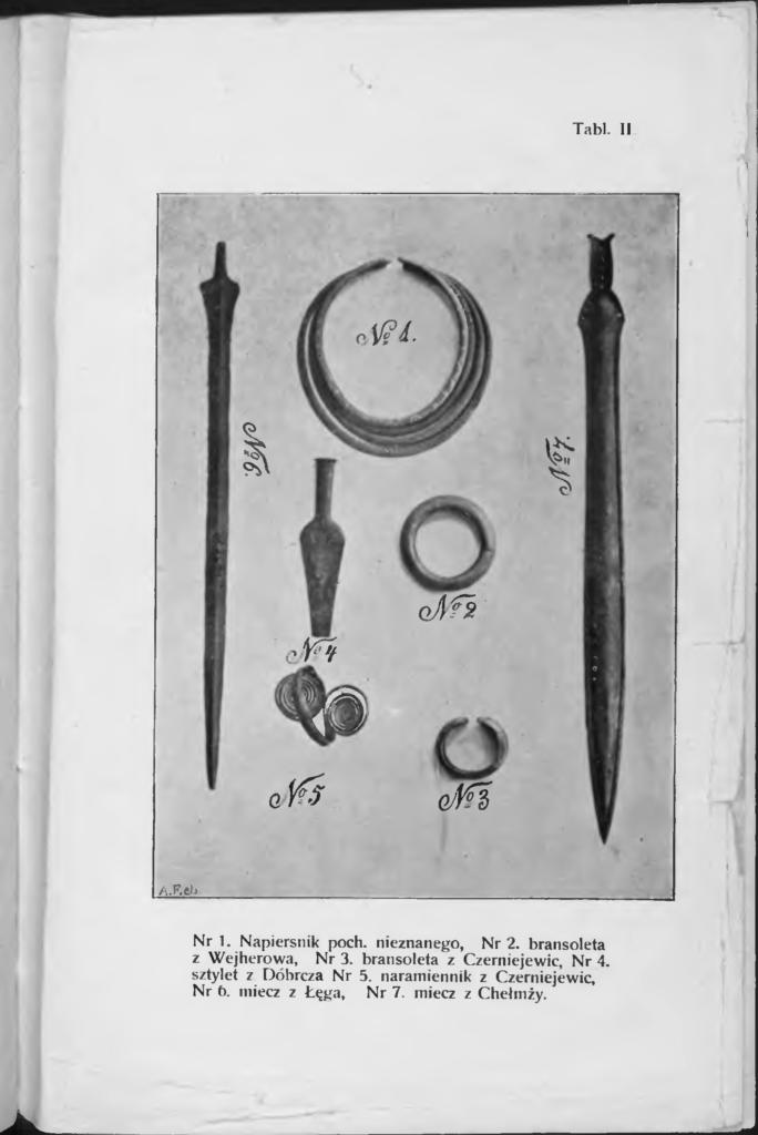 Tablica z: Rocznik Towarzystwa Naukowego w Toruniu, 1906, r. XIII